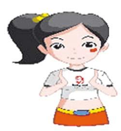 Frapper dans les mains 2 fois, crier « Zhongguo ! » (Chine)